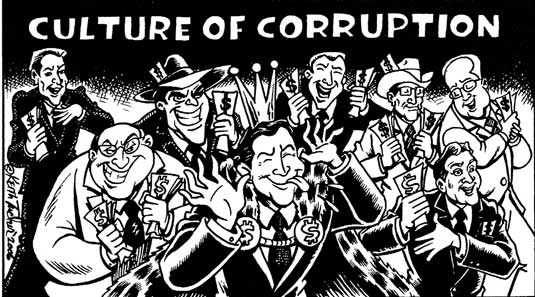 Corruption as part of Culture
